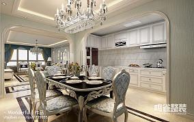 现代大面积时尚家居厨房