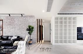 面积96平北欧三居客厅装修效果图片