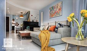 简约风格二居小客厅设计图片
