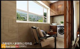 祥泰和院三室两厅新中式风格装修效果图_2942512