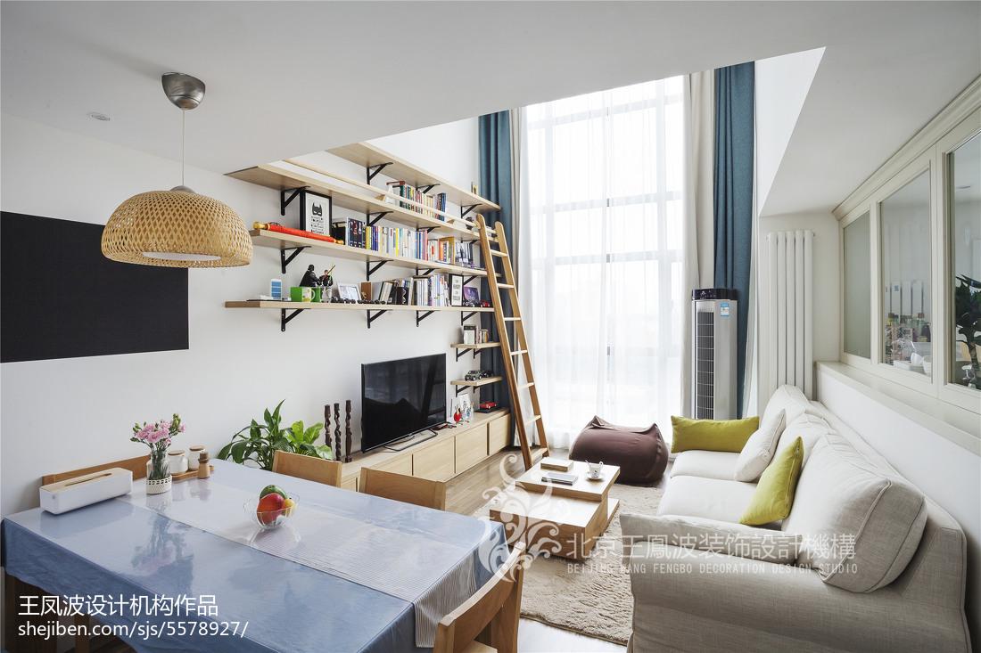 日式简约二居客厅设计图片