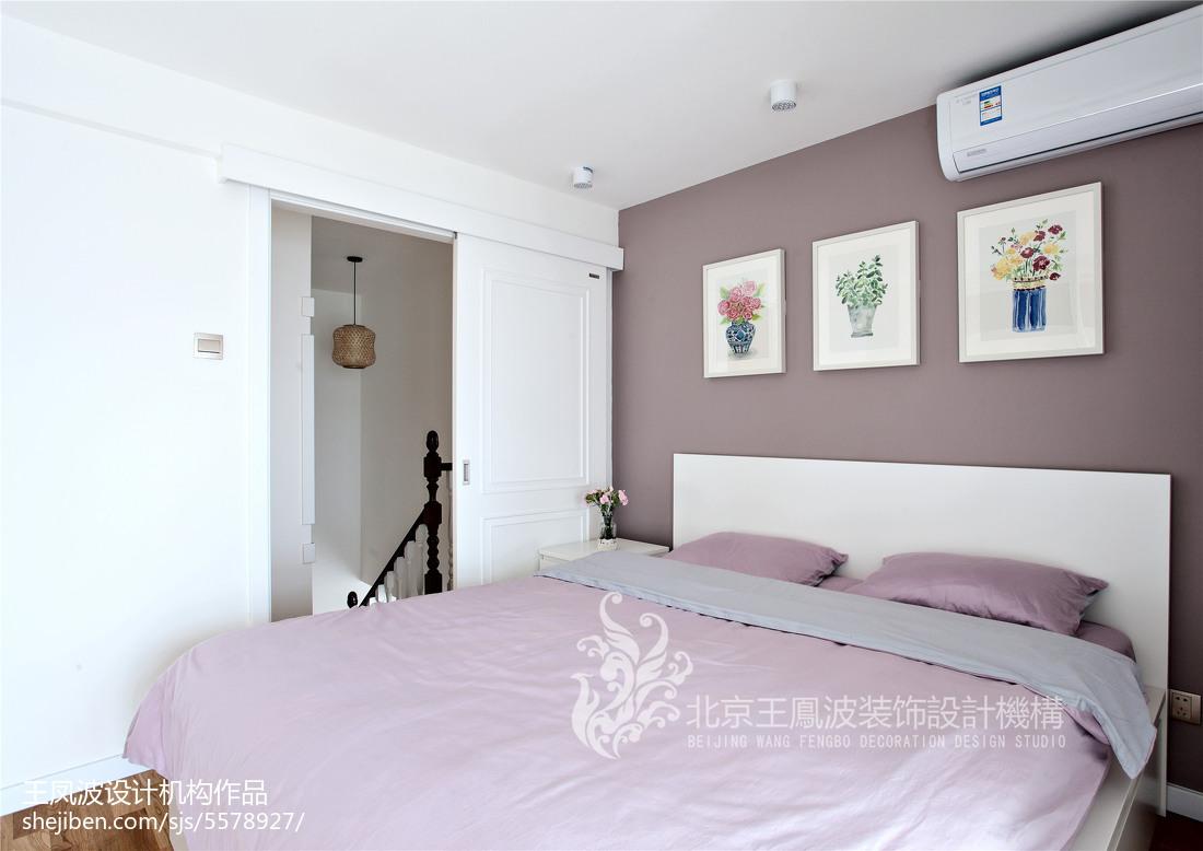 日式简约二居卧室设计效果图片