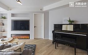精美106平米三居客厅北欧装饰图片
