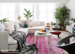简单混搭三居客厅设计图片
