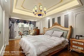 2018精选138平米欧式别墅卧室装修设计效果图片大全