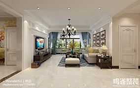 现代中式室内装修风格效果图