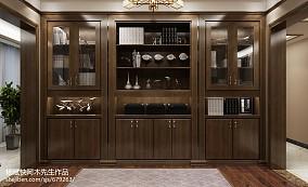 2018精选120平米四居书房中式装修设计效果图片