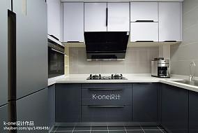 独特现代二居厨房设计图