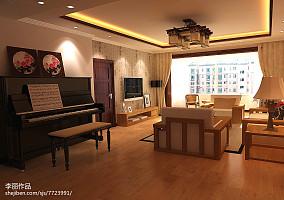 60平米现代装修小公寓客厅效果图