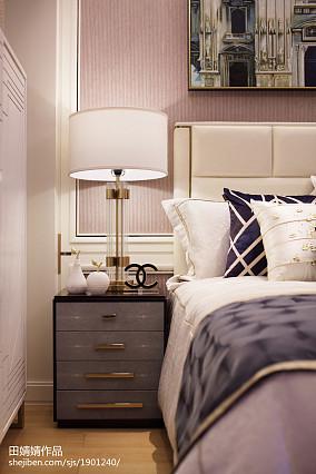 悠雅336平欧式样板间卧室装饰图