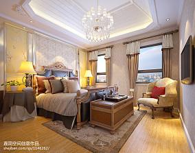 2018复式卧室新古典装修欣赏图片