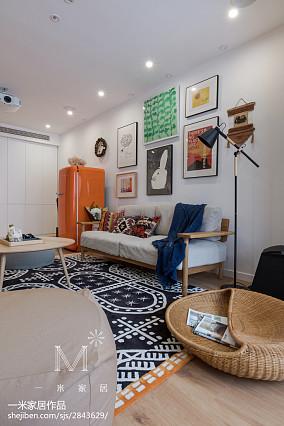 质朴116平日式三居客厅装修图