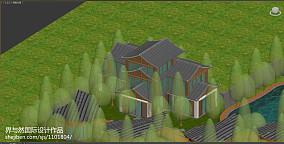 简单简约风格二层别墅外观图片