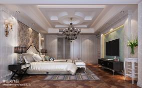 2018面积124平复式卧室欧式装修图片