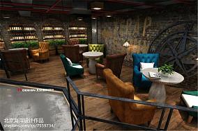 现代风格西餐厅设计效果图欣赏大全2014