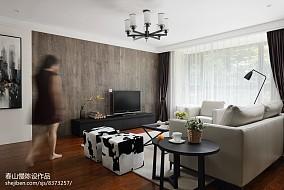 热门面积107平简约三居客厅装修图片欣赏