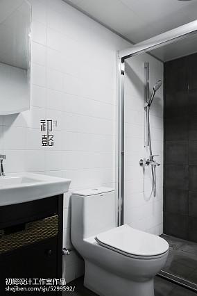 2018北欧三居卫生间装饰图片