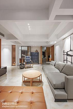 精美118平米东南亚别墅客厅装修效果图片