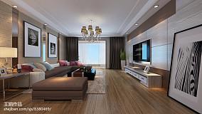 豪华欧式风格客厅设计效果图