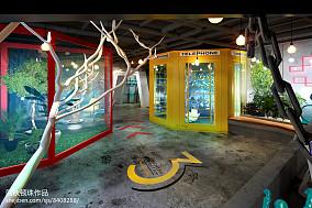 北欧自建小别墅餐厅装修图片欣赏