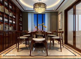 现代美式婚房卧室设计2014图片