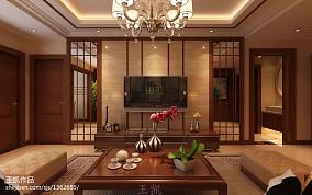 热门大小99平中式三居客厅装修图片