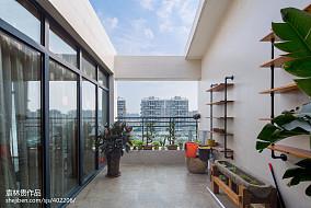 2018精选面积125平复式花园中式装修欣赏图片