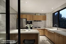 热门面积100平中式三居厨房装饰图片大全