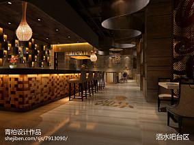 简约温馨风格餐厅装饰效果图片