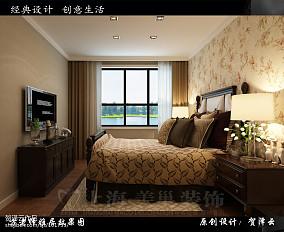 简单三室一厅婚房效果图