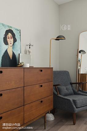 大气144平北欧四居卧室装修装饰图