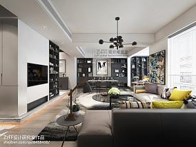 热门125平米四居客厅装修设计效果图片大全