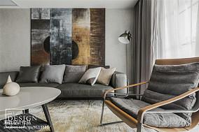 101平米三居客厅现代装修效果图片