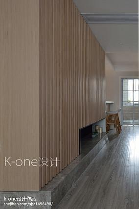 优雅60平简约复式客厅装修案例