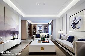 新中式别墅客厅设计实景图