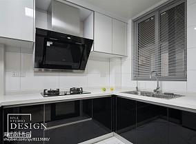 精选105平方三居厨房现代装修欣赏图