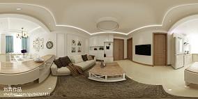 质朴28平简约小户型客厅实景图