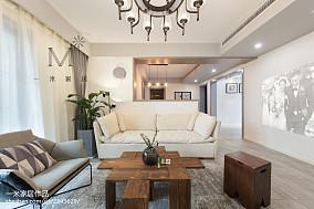 精选106平方三居客厅混搭效果图片大全