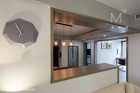 热门面积94平混搭三居厨房装修图