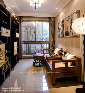 清雅一室一厅客厅图片
