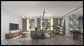 精美90平米二居客厅宜家装饰图片大全