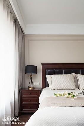 大小127平美式四居卧室装修图片大全