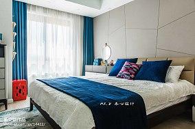 精选101平米三居卧室简约装修设计效果图