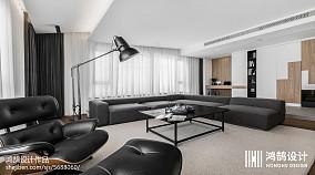 201877平米二居客厅现代装修实景图片大全