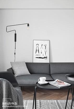 面积98平北欧三居客厅装修欣赏图片