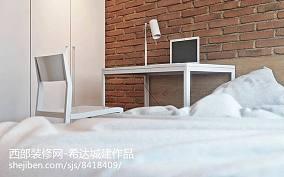 精选139平米四居卧室简约装饰图片