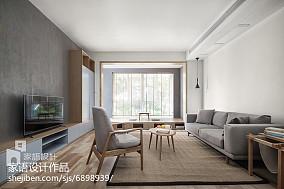 2018精选93平米三居客厅日式装修欣赏图
