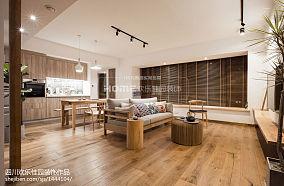 2018面积94平日式三居客厅装修图片