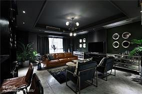 精美面积136平混搭四居客厅实景图片