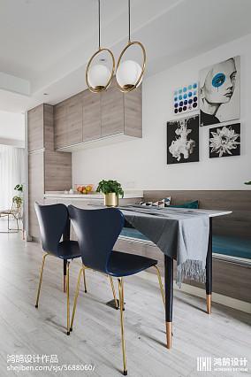 精选面积83平现代二居餐厅装修欣赏图
